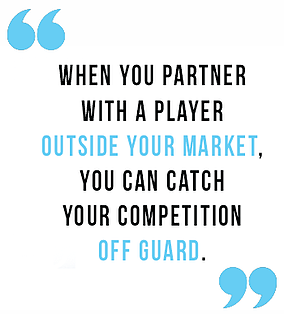 partner with a player quote