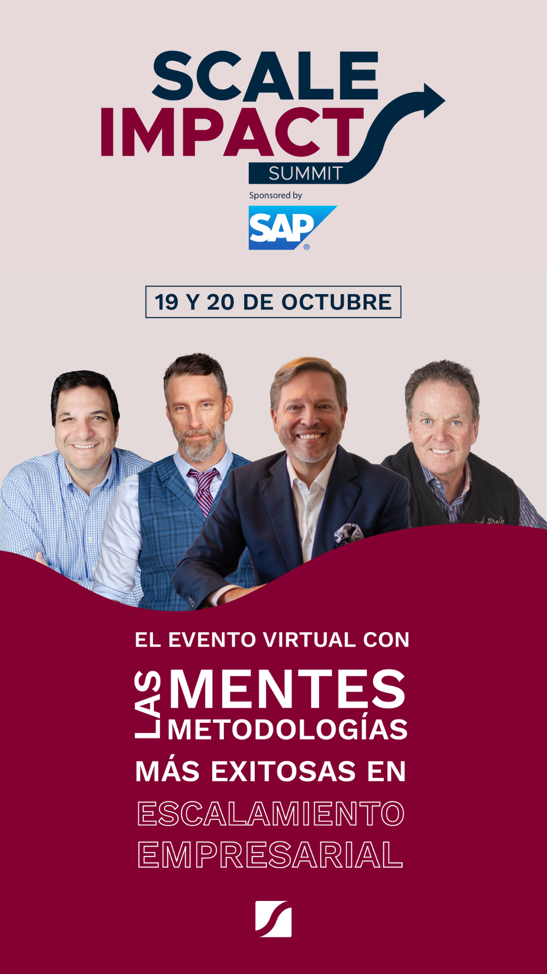 Banner Scale Impact Summit Sponsored by SAP