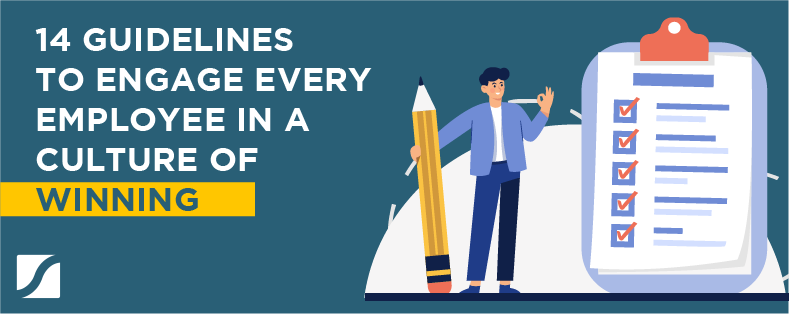 14 guidelines to engage every employee in a culture of winning banner