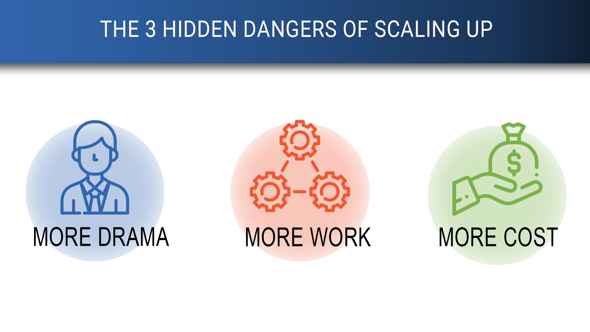 The 3 Hidden Dangers of Scaling Up