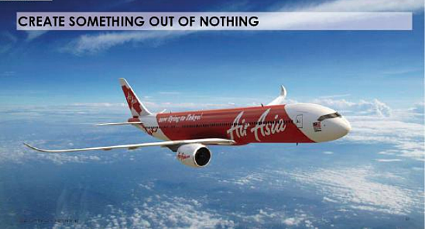 tony fernandez turned Air Asia into a hub for new customers