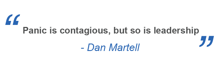 leadership quote, dan martell