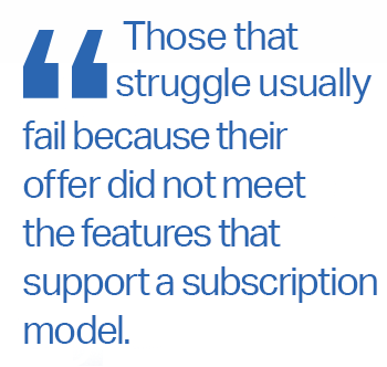 subscription models