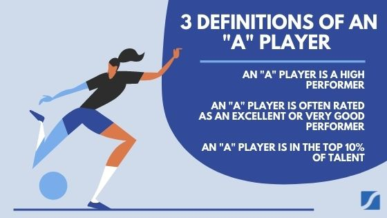 the 3 definitions of an a player