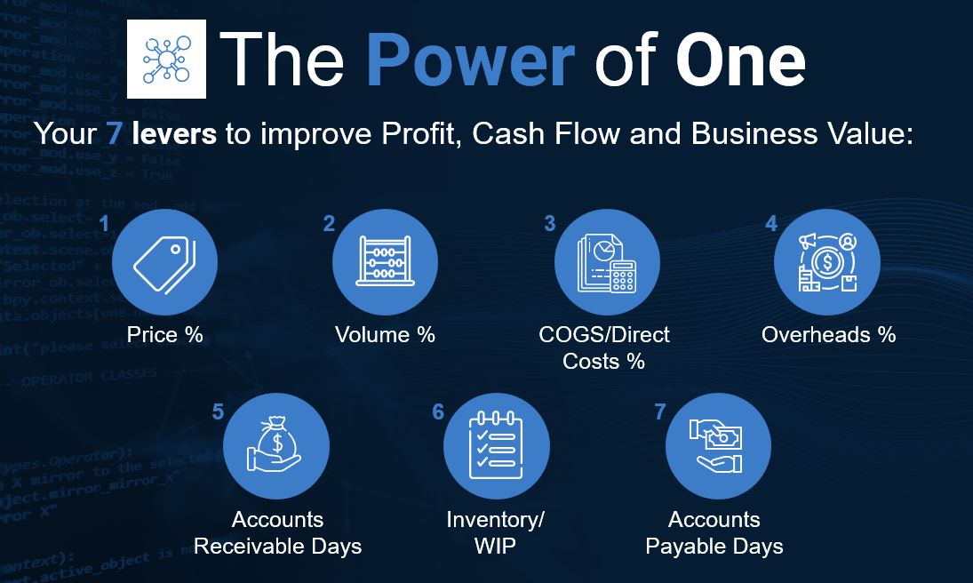 the seven levers of your power of one