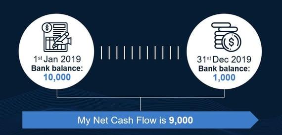 you net cash flow in 2019