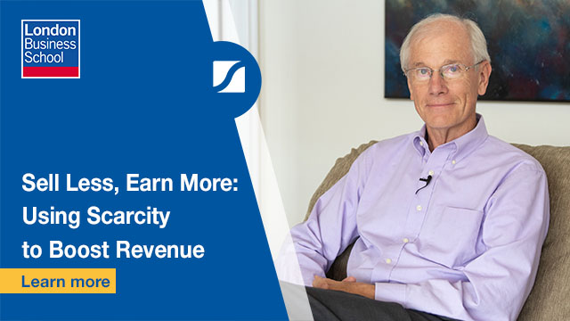 Sell Less, Earn More: Using Scarcity to Boost Revenue