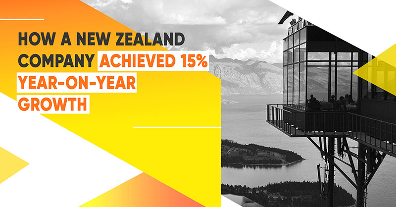 How A New Zealand Company Achieved 15% Year-On-Year Growth