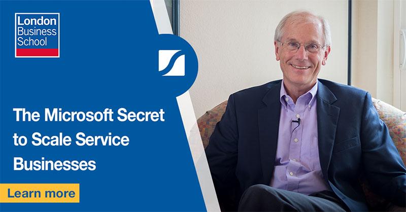 The Microsoft Secret to Scale Service Businesses