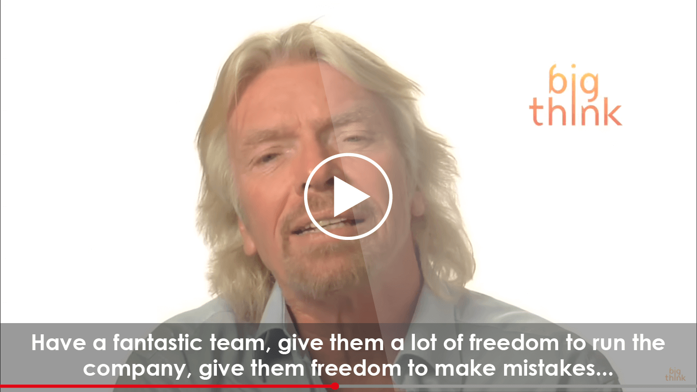 Richard Branson's Advice You Should Listen To