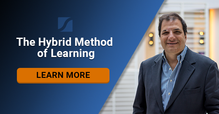 Why The Hybrid Method of Learning Gives You An Immediate ROI