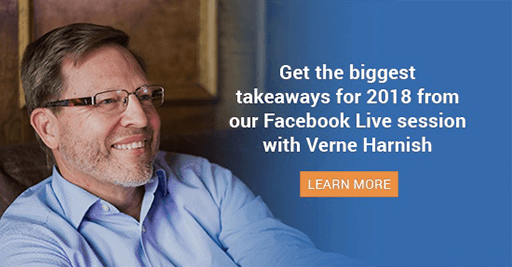 Our Biggest Takeaways For 2018 From Our Facebook Live Session With Verne Harnish [Read Before Christmas]