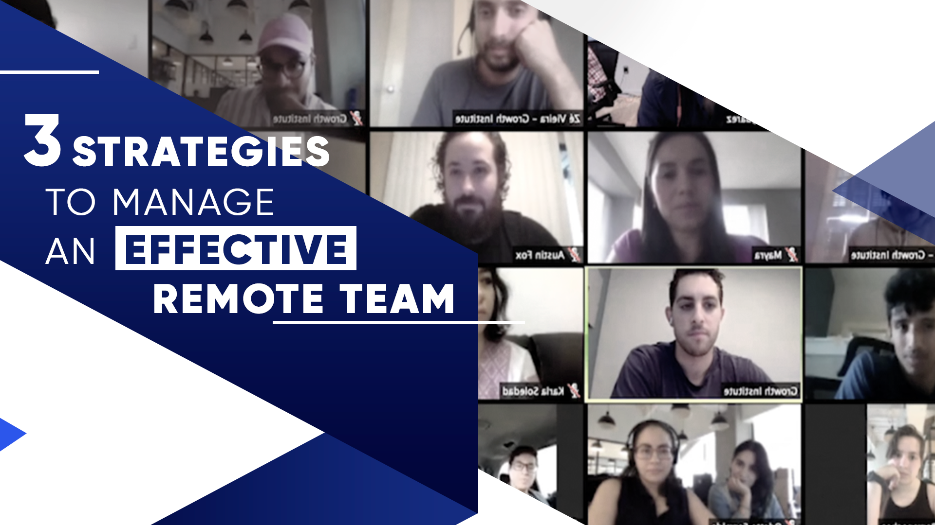 3 Strategies to Manage an Effective Remote Team
